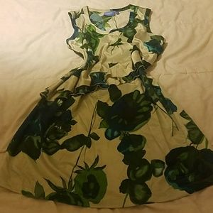 Simply Vera Vera Wang XL floral dress